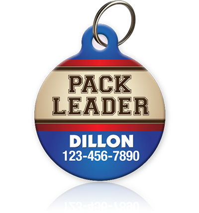 Pack Leader - Pet ID Tag