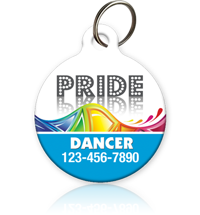 Pride - Pet ID Tag LGBT dog or cat id tag