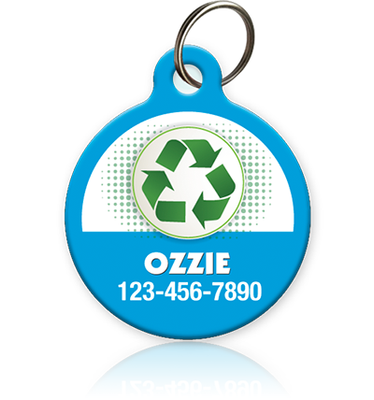 Recycle Pet ID Tag