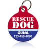Rescue Dog - Pet ID Tag