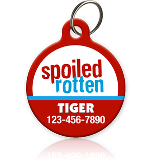 Spoiled Rotten - Pet ID Tag