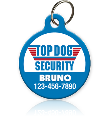 Top Dog - Pet ID Tag