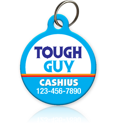 Tough Guy Pet ID Tag