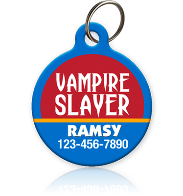 Vampire Slayer Pet ID Tag
