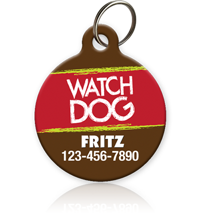 Watch Dog - Pet ID Tag