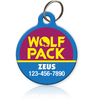 Wolf Pack Pet ID Tag
