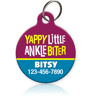 Ankle Biter Pet ID Tag