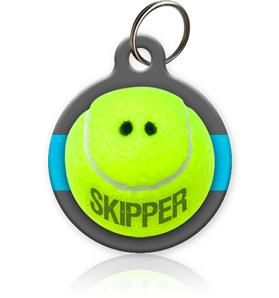 Tennis Pet ID Tag