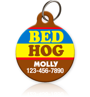 Bed Hog Pet ID Tag