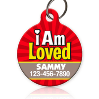 I Am Loved Pet ID Tag - Aw Paws