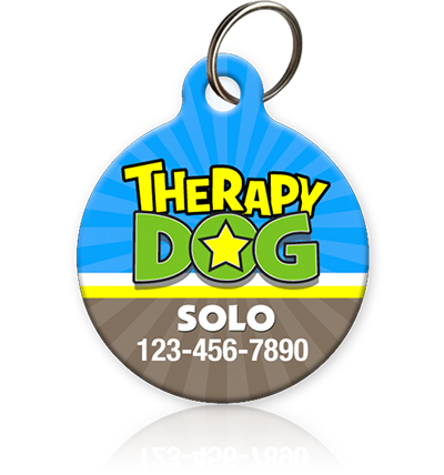 Therapy Dog - Pet ID Tag