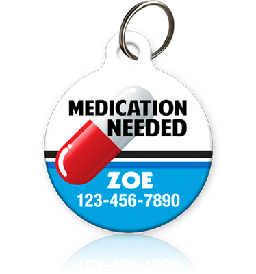 Medication Needed - Pet ID Tag