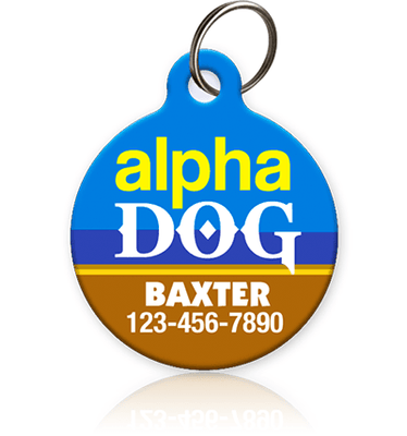 Alpha Dog Pet ID Tag