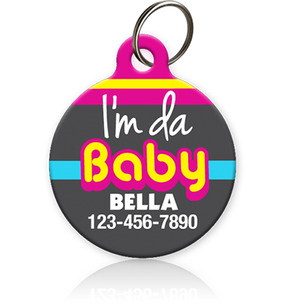 Da Baby Pet ID Tag - Aw Paws