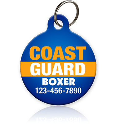 Coast Guard Pet ID Tag - Aw Paws