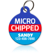 Microchipped - Pet ID Tag