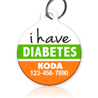I Have Diabetes - Pet ID Tag
