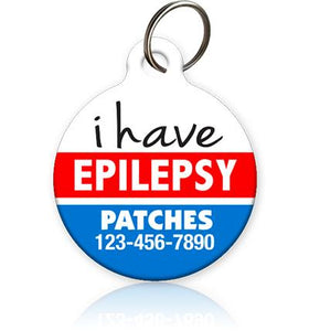 I Have Epilepsy - Pet ID Tag