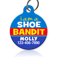 Shoe Bandit Pet ID Tag - Aw Paws