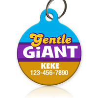 Gentle Giant Pet ID Tag - Aw Paws