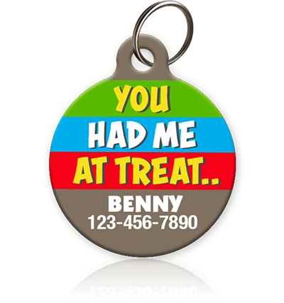 Had Me at Treat Pet ID Tag - Aw Paws