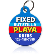 Fixed Playa - Pet ID Tag