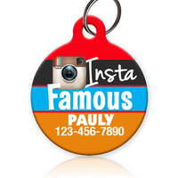 Insta Famous Pet ID Tag - Aw Paws