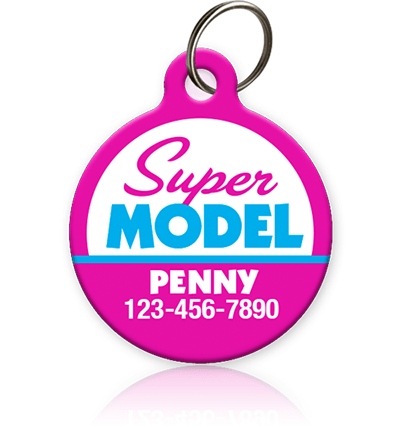 Super Model - Pet ID Tag