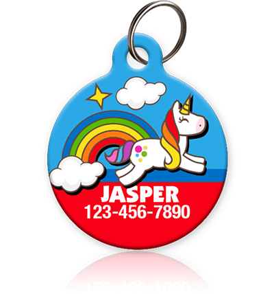 Unicorn - Pet ID Tag for dog or cat