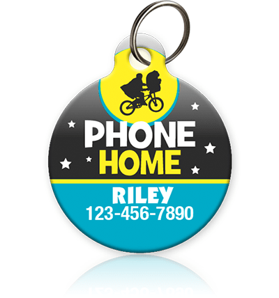Phone Home - Pet ID Tag