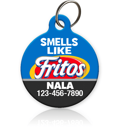 Smells Like Fritos Pet ID Tag - Aw Paws