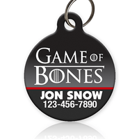 Game of Bones Pet ID Tag - Aw Paws
