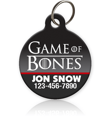 Game of Bones - Pet ID Tag