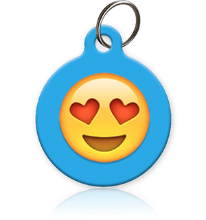 Emoji Faces Pet ID Tag - Aw Paws