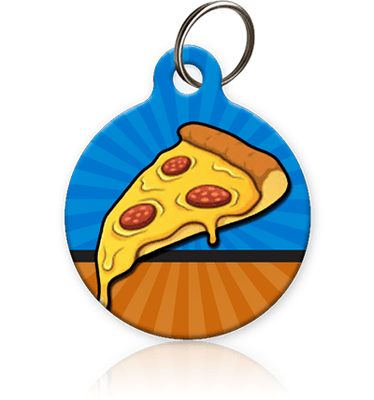 Pizza Pet ID Tag - Aw Paws