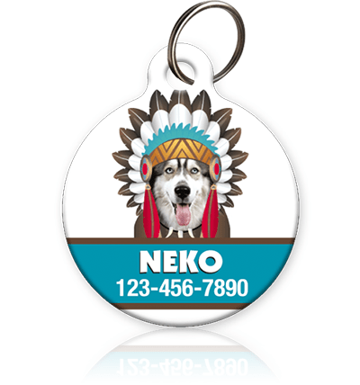 Indian Pet ID Tag