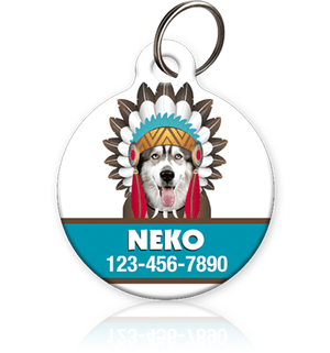 Indian Pet ID Tag - Aw Paws