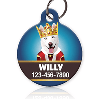 King Pet ID Tag - Aw Paws