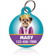 Queen Pet ID Tag - Aw Paws