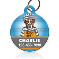 Mugshot Pet ID Tag - Aw Paws