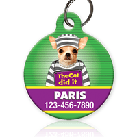 Mugshot Version 2 - Pet ID Tag