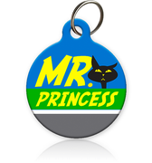 Mr Princess Cat ID Tag