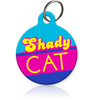 Shady Cat Cat ID Tag