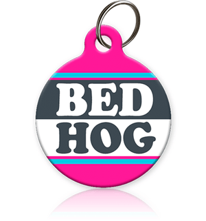 Bed Hog Cat ID Tag