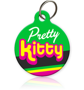 Pretty Kitty Cat ID Tag