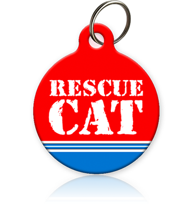 Rescue Cat Cat ID Tag