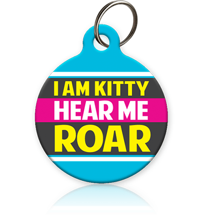 I Am Kitty Cat ID Tag - Aw Paws