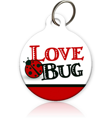 Love Bug Cat ID Tag