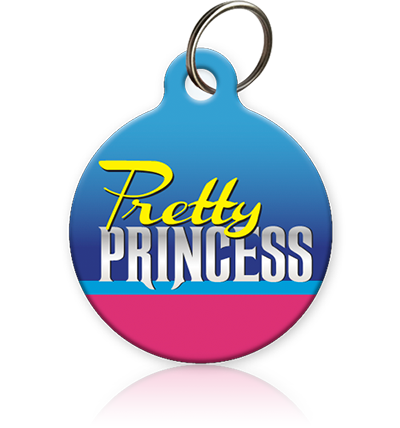 Pretty Princess Cat ID Tag