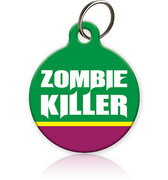 Zombie Killer Cat ID Tag